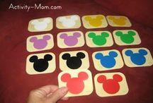 preschool games / learning activities