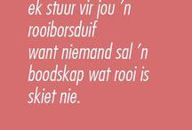My Afrikaans