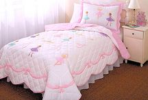 Ballerina Bedroom / Ballerina and ballet bedding sets for girls feature classic dancing ballerinas all over plus matching bedroom decor. It's the perfect ballet bedding choice for your pretty little dance princess!  / by Kids Room Treasures