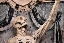 Memento Mori / A reminder of the inevitability of death.  As it is with a play, so it is with life—what matters is not how long the acting lasts, but how good it is. ~ Seneca from Letters from a Stoic