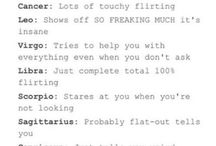 Scorpio and signs
