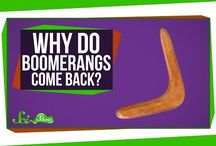 Boomerang Science Projects / A popular science project for kids is to make a boomerang and use it to learn more about aerodynamics and physics. There are lots of great boomerang science project ideas for kids of all ages!