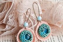 Crochet earrings etc