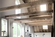 houten schuur dak