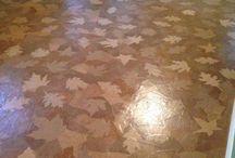 Podlaha z papiera
