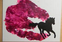 Pintura de giz de cera