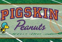 "Pigskin Peanuts / Featuring the iconic ""Fall Classic, or Lucy pulling the ball away from Charlie Brown as tries to kick it , ""Pigskin Peanuts"" chronicles the enduring legacy of the world's most popular comic strip through a display of over 250 football-themed strips and ephemera. A traveling exhibit from the Charles M. Schulz Museum, it includes over 250 hand-drawn comics, Peanuts ephemera and more. Opens Sept. 5, 2015, for more information, visit http://www.CaliforniaMuseum.org/Pigskin-Peanuts. #Peanuts  / by California Museum"