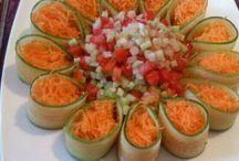 карвинг овощи