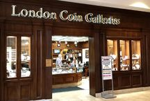 London Coin Galleries / We buy & sell Numismatic (Collectible) Coins, Bullion Coins & Bars, Currency: domestic as well as some foreign, Jewelry: gold, silver, platinum and designer watches like Rolex, Cartier & Breitling. As well as dental gold but please no teeth, just the gold. We are also a licensed California Pawnbroker and are happy to provide loans on any of the items mentioned above.