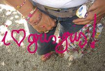 gris-gris et Bijoux / www.cinquanteansetalors.com  Bijoux fantaisie ou pas, liens porte-bonheur, accessoires d'un été ou d'une vie ! Toute mon histoire à mon poignet !