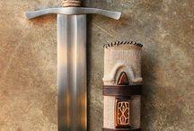 Kouzlo meče, rytíři, vikingové
