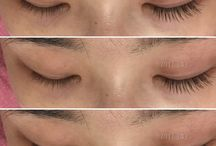 Eyelash extenstions / design your own natural eyelashes