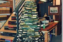 choinka z książek