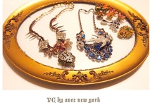 History by avec new york / Vintage, feminine, unique and one of a kind jewelry.