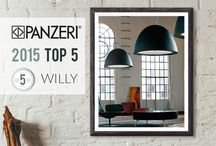 Panzeri 2015 Top 5 / The 5 lamps much sold: Panzeri has revealed the classification of 2015