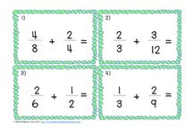 Math-Fractions/Decimals/Percents / by Melissa Brothers