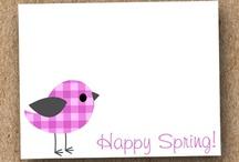 Birds and chicken / Umenie z papiera