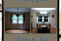 Remodeling Time! / Ever wanted to get your creative cap on and redo a room? Something as simple as rearranging furniture can give any room the lift you're looking for... Or even an entire cabin! Find some good ideas with these before and after room project pictures.