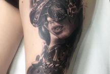 Tatuajes Φ ZOEN Φ / Tatuajes realizados por el artista Zoen