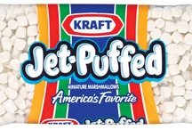 JET-PUFFED MARSHMALLOWS / With over thirty varieties of marshmallows for snacking, baking, topping, spreading and decorating, JET-PUFFED lets you have FUN with your YUM!