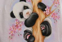 festa safira ursinho panda