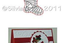 Iris Folding / folded greeting cards