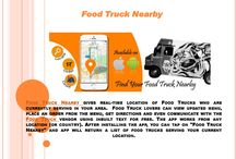 Food Truck Nearby / Locate food truck using real time data, order from everyday updated menu, and get driving directions. Use this FREE and very easy to use app to feed your hunger with the food that you love. Also, book the truck for your next event. What's next….let's roll.