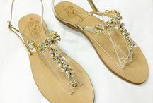 WEDDING SANDALS - SHOES / Custom perfect sandals for your wedding!  INFO&ORDER http://sandali-siniscalchi.blogspot.it/