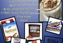 shake recipes / by Catherine Capps Holland