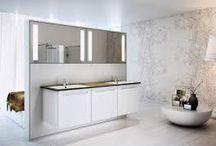 Ideoita uudeksi kylpyhuoneeksi / Kylpyhuoneremontti suunnittelun alla. Ideat kootaan tänne.