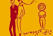 PORTFÓLIO | Mala direta Ajorsul 2012 / PORTFÓLIO | Mala direta - Ajorsul 2012  Ilustrações para mala direta: convite para visitar o estande do cliente na Ajorsul 2012.  Cliente: Essilor Agência: Frux