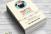 Mya's pug birthday party