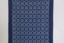 moroccan cross stitch tablecloth