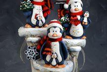Natal em biscuit