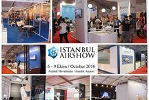 İSTANBUL AİR SHOW / Sedef Grup'un alan kurulumunu ve özel dekor çalışmalarını gerçekleştirdiği İSTANBUL AİRSHOW 2016 6-9 Ekim tarihleri arasında ziyaretçilerini ağırladı.