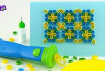 Quilling Art / Quilling art is a fascinating world of wonderful creations. Explore more and more of this art form with us.