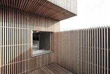 Архитектура. Фасады. Дерево
