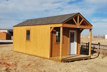 Open Porch Office / Open porch office is ideal for small businesses, lakefront properties, hunting cabins, and more!
