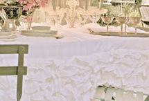 Table  and chair Linen Designs