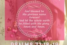 May The Glory of God fill the earth when Jesus comes back to be King