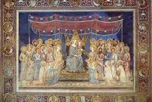 Симоне Мартини. / Симоне Мартини является крупнейшим сиенским художником первой половины XIV в.