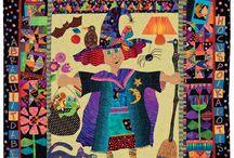 Mary Lou Weidman quilts / by Paula Easlon- Lovett