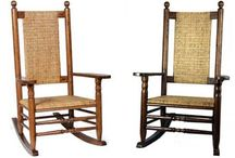 The Authentic Kennedy Rocker / This good old-fashioned southern porch rocker has become famously known as the Kennedy Rocker because President Kennedy so loved his rocker and took it with him everywhere.