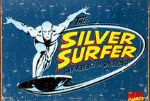 comic art 3=silver surfer-Shalla-Bal-Nova (Frankie Raye )-Galactus-Galacta-Watcher / Nova(Richard Rider)-Nova (Sam Alexander)-Nova Corps-Gamora-Angela-Ego the living Planet
