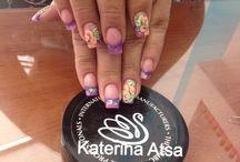 Katerina's Atsa Nails / My Nailwork <3