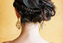 Wedding Beauty / A round-up of wedding hair, bridal makeup, wedding beauty trends