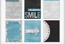 Journal Cards / Journal cards for both digital and hybrid projects.
