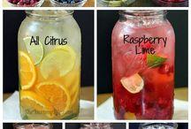 Drinks (Bebidas) / Peparación de bebidas y tragos caseros.