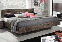 Industrial / Retro - Schlafzimmer / - Schlafzimmer - Industrial / Retro  - bezahlbar - bedroom