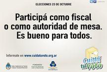 No dejes que hablen por vos / Campaña realizada para las elecciones del 23 de Octubre del año 2011. Cuidar el voto, es cuidar nuestra libertad y nuestro país.